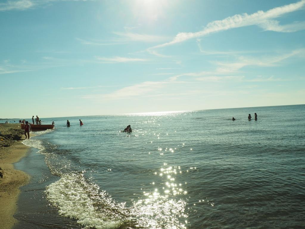 Bobolin - plaża