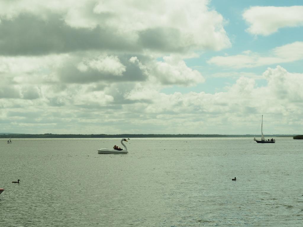 Bukowo jezioro koło Bobolina